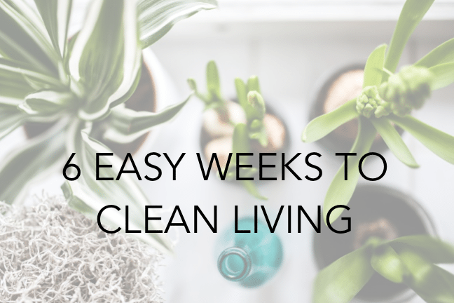 6 week course that covers Clean Laundry, Cleaning Supplies, Clean Food, Clean Beauty, Clean Cupboards and Clean Medicine Cabinet