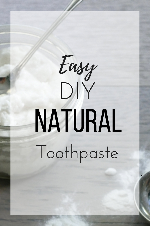 Easy DIY Natural Toothpaste