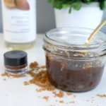 DIY Vanilla Brown Sugar Body Scrub and Lip Scrub