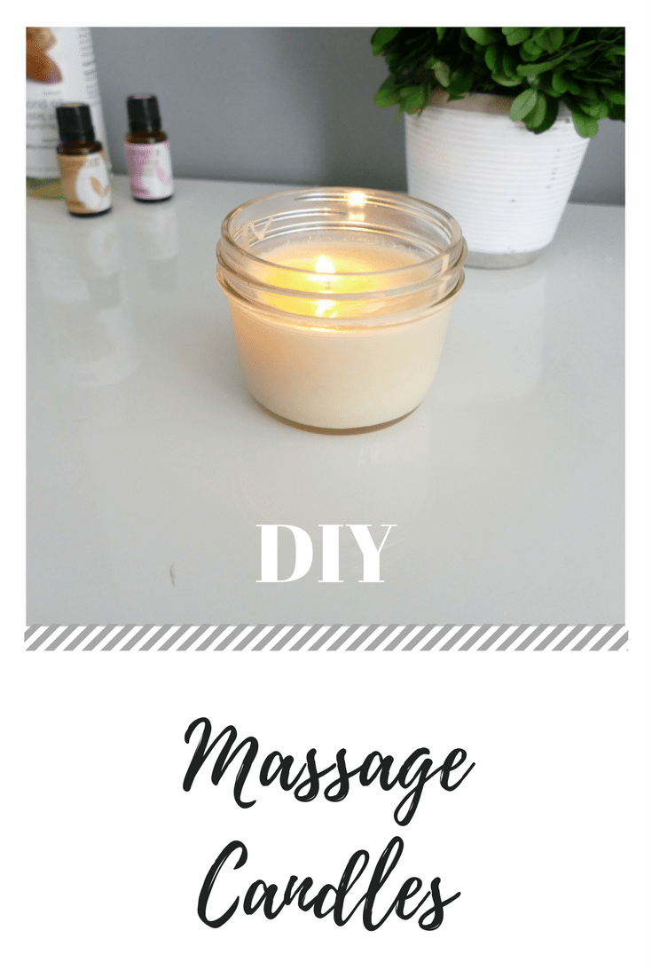 DIY Massage Candle