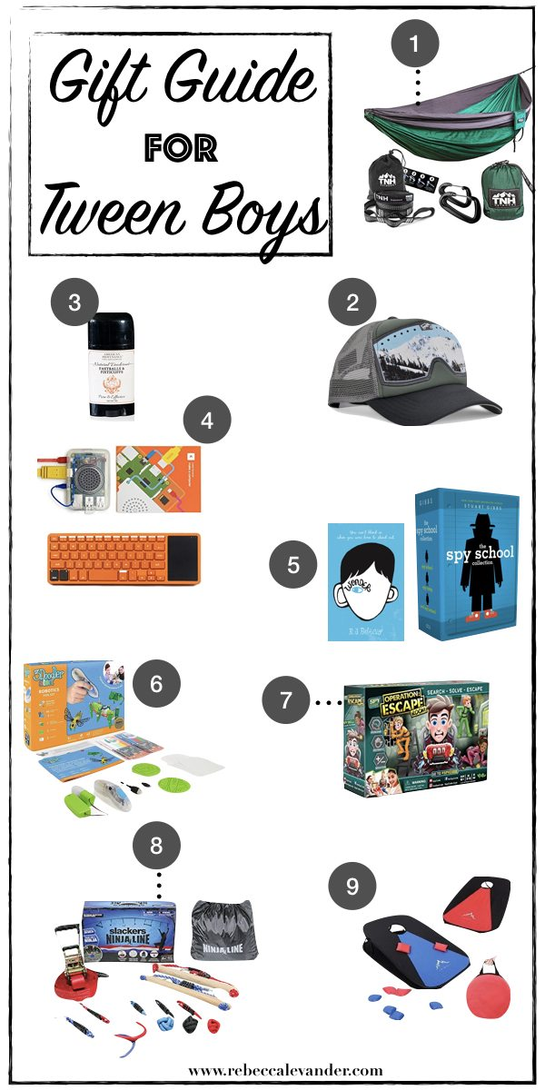 Gift Guide for Tween Boys