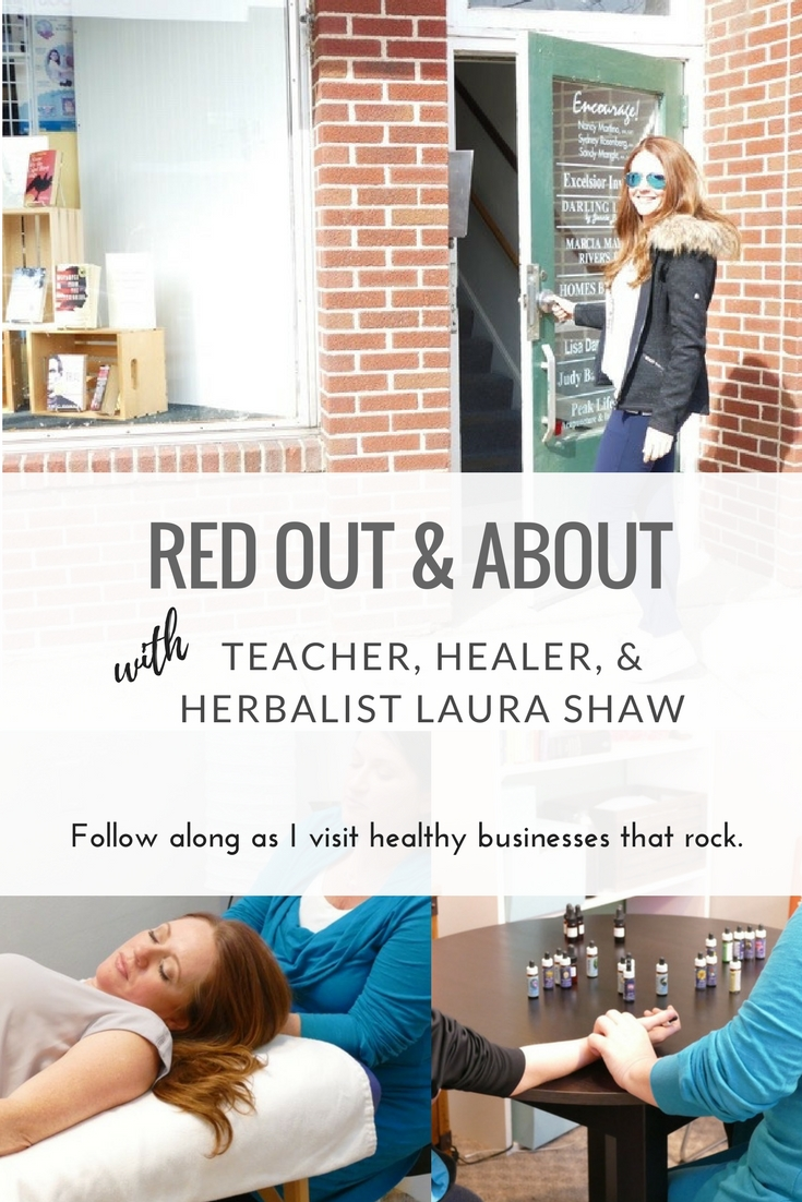 Red Out and About: with Healer, Herbalist and Teacher Laura Shaw