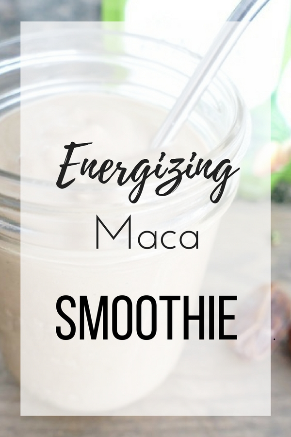 Energizing Maca Smoothie